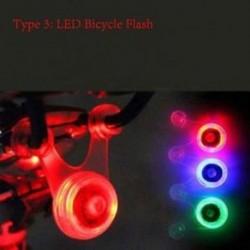 Kerékpározás Vízálló lézer vörös lámpa LED kerékpár hátsó világítás
