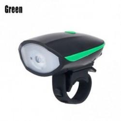 Fényes kerékpár fej és hátsó lámpa vízálló, újratölthető USB fényszóró