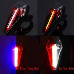 Új stílus Dupla színek Kerékpár hátsó lámpa LEDLamp figyelmeztetés Kerékpározási fény