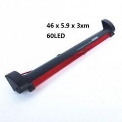 60LED - Hátsó figyelmeztető lámpa piros LED Magas felszerelésű fénysávos autóféklámpa ködlámpa