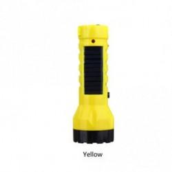 Sárga - Hordozható sátorfény vészüzemi LED napelemes lámpa újratölthető