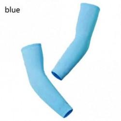 kék - 1 pár Mászás Kerékpáros lovagolás Hűvös karú ujjak Golf fedél UV napvédő