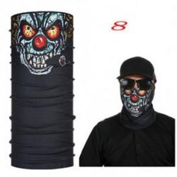 972b1311f6 8 - Nw stílus Kerékpározás Koponya Bohóc nyak Arc Mask Sál Balaclava  Bandana Snowboard