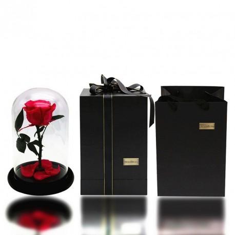 Mű Rózsa virág ünnepi üveg fedél egyedi ajándékok