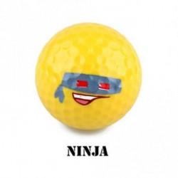 Nindzsa - Ajándékok Super Kawaii Vicces Sárga Képzés Emoji Golf Ball