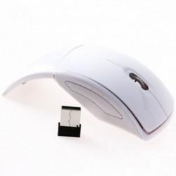 Fehér Arc Mouse - 2.4GHz Arc Touch Vezeték nélküli egér összehajtható optikai egér USB vevővel PC-hez