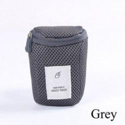 Szürke - Utazás hordozható egér USB Számítógép tartozék táska táska hordtáska tok táska