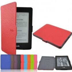 Divat mágneses ébresztő / alvó PU bőr tok borítás Amazon Kindle Paperwhite