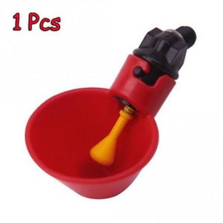 13af5e697a 1/5/10 db Fowl Bowl Madárbaromfi Ivó csirke műanyag automata vízcsésze