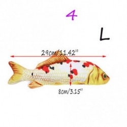 30cm stílus4 - 30cm Pet Toy Macska Párna Játékok Fű Párna Pénzverde Táska Játék Macska Hal Párna