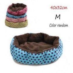 40x32cm - Véletlen színes ház meleg kutya fedőpárna Pet kennel Mat Cat ágy párnafészek