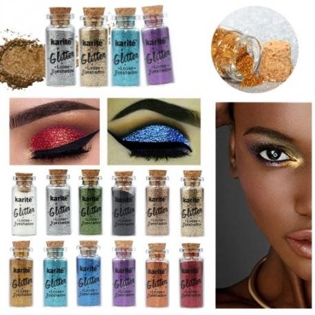 3g bájos női smink kozmetikum glitter szemhéjárnyaló por