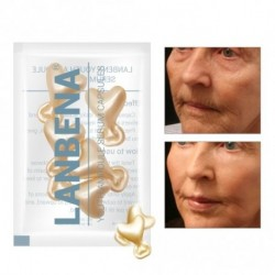 1x LANBENA arany peptid szemrán elleni kapszula szérum krém feszesítő