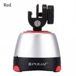 Piros - Pan Head Tripod Head Panoráma Fényképezőgép okostelefonokhoz, GoPro, DSLR