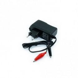 12V1A AC fali töltő autós motorkerékpár akkumulátor töltő 14,4 V ólom-savas GEL akkukhoz