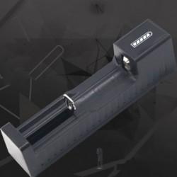 USB intelligens többfunkciós lítium akkumulátortöltő 18650-hez 16340 17670 10440 14650 26650