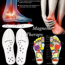 1 pár mágneses terápia talpbetét Memória pamut masszírozó fájdalomcsillapító