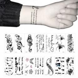 Tetováló matrica - Választható mintával - 105 x 60mm