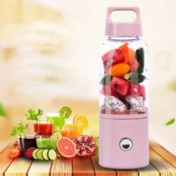 500ml újratölthető USB gyümölcs turmixgép Blender palack hordozható Mini Juicer