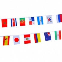 7 * String Flag Oroszország számára FIFA világbajnokság 32 csapat zászló