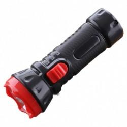 1x Mini újratölthető LED kézi hordozható zseblámpa kültéri kemping utazáshoz