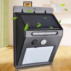 1x Kültéri LED mozgásérzékelő lámpa vízálló fényes biztonsági fény