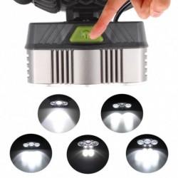 1x 50000 Lumen 5x XM-L T6 LED újratölthető USB fényszóró zseblámpa