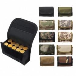 1x 10 lyukú öv lőszer tartó patron táska többfunkciós taktikai derék táska