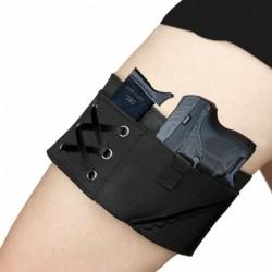 1x Harisnyanadrág női szexi comb rejtett hordozó tartó BU9 Nano CW380 LC9s revolver pisztolyhoz
