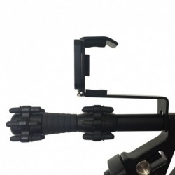 1x Telefon-felszerelés összetett íjjal vadászati kiegészítőkhez Smartphone-tartó íjászat