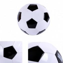 1db PVC klasszikus fekete fehér standard futball labda választható méret 3 4 5