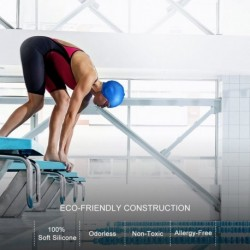 1x felnőtt vízálló úszósapka vizi sport úszás