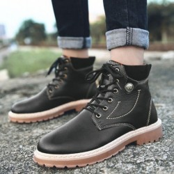 1 pár divatos kényelmes sport utcai cipő bakancs