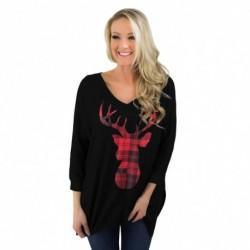 1db hosszú ujjú női laza póló top felső pulcsi pulóver