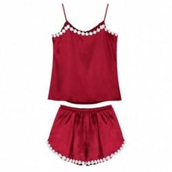 1szett szexi női piros alvó ruha pizsama hálóruha