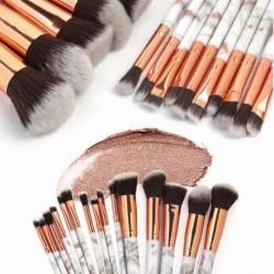 10db kozmetikai szemhéjárnyaló arcpirosító smink kefe ecset szett