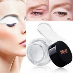 1x Qibest 3,5 g fehér alap szem smink krém vízálló szemhéjfesték szemhéj alap hidratáló kozmetikum