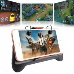 1x Játékvezérlő PUBG mobil  lövöldözős tűzgombhoz   fogantyútartó mobiltelefon-adapter tartozékok