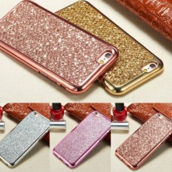 1x Bling glitter puha telefon tok iphone7 / 8 / x