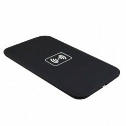 1x Ultra vékony univerzális QI vezeték nélküli töltő Android telefonok töltőpad