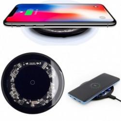 1x 10w gyors vezeték nélküli töltő Apple 7.5w Qi 9v gyors töltő iPhone 8 X XS Samsung Nexus Moto