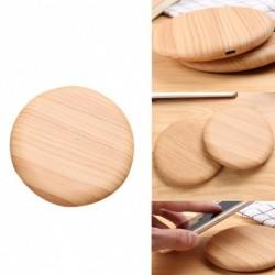 1x Bambusz fa vezeték nélküli töltő dokkoló iPhone 8/8 plusz / iPhone X / xs / xs max
