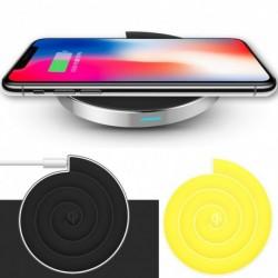 1x 5W Qi vezeték nélküli töltő Gyors töltőpad iPhone X iPhone XS Max