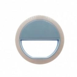 1x Szelfie LED világító gyűrű fényképezőgép telefon tablett iPhone Samsung