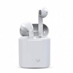 1x Mini vezeték nélküli Bluetooth fülhallgató sztereó hangszóró doboz Mic minden okos