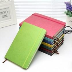 1x Új A5 műbőr notebook füzet egyszerű üzleti iskolai irodai napló kellék