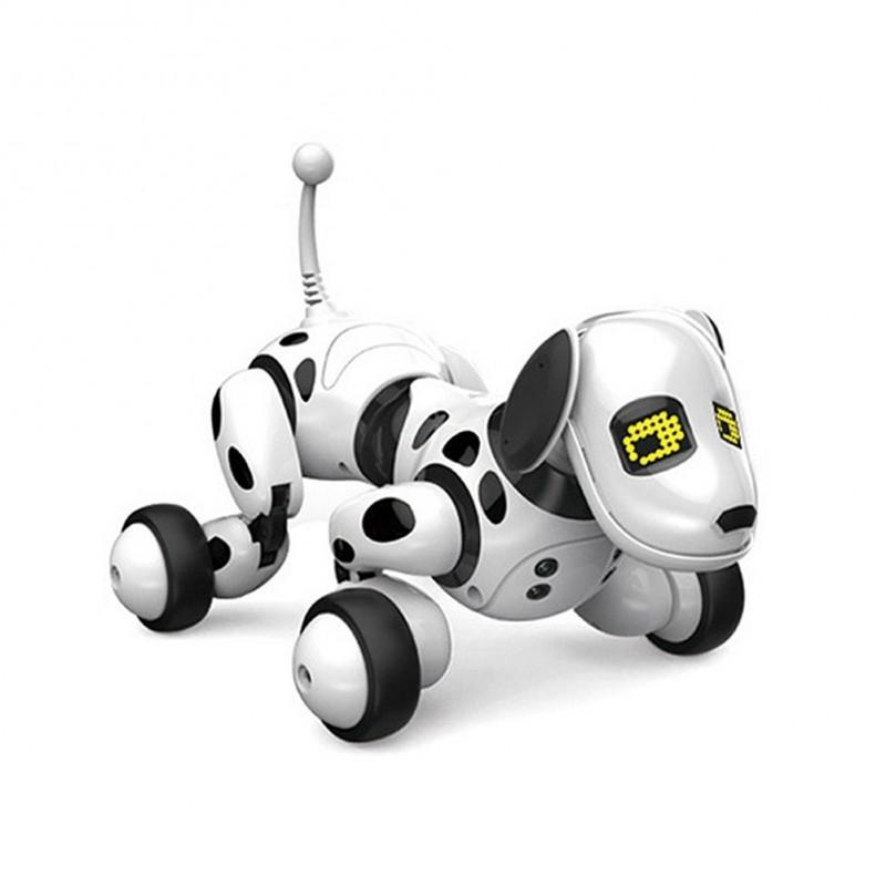 6a391d249f5b 1x Robot kutya elektronikus kisállat intelligens kutya robot játék 2.4G  távirányítós