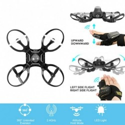1x Mini RC Drón Quadcopter HD 480P fényképezőgép távirányítóval