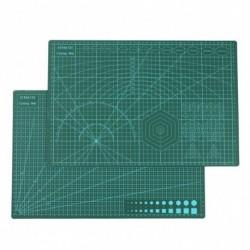 1x A3 PVC vágószőnyeg papír kézműves DIY szerszámok Rácsvonalak