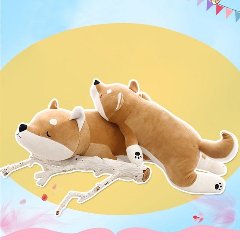 bd489abff7bb 1db 55cm aranyos akita kutya plüss játék töltött játék gyerekeknek